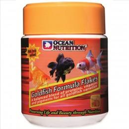 Ocean Nutrition Goldfish Formula Flakes 70g (alimento en escamas para peces de agua frí