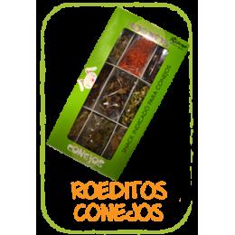 Ribero Snack Roeditos Conejos 200g