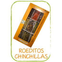 Ribero Snack Roeditos Chinchillas 200g