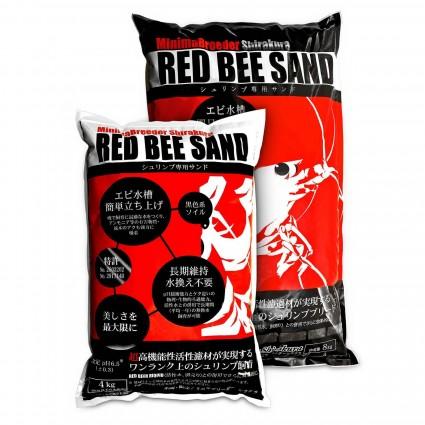 Shirakura Red Bee Sand 4 kg Sustrato Gambas