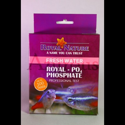 Test de fosfatos para agua dulce de Royal Nature.