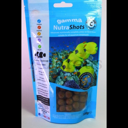 Gamma Nutra Shots Complete C 100g