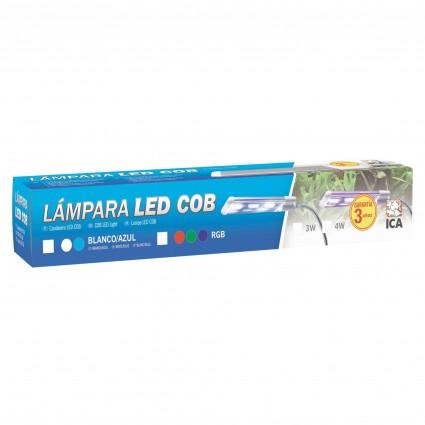 Lampara LED COB 6W Blanco/Azul