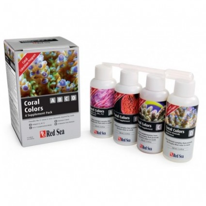Red Sea Coral Colors ABCD pack 4 x 100 ml