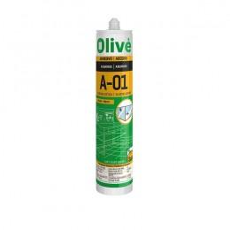 Silicona Acuario Transparente Olivé V-01
