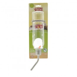 Living World Bebedero Cristal Roedor Mediano 355ml