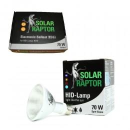 Solar Raptor KIT Completo 70 w Bombilla + Balastro