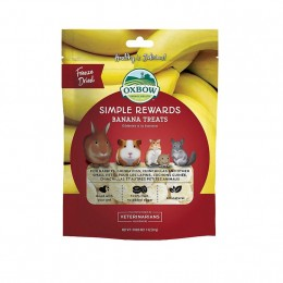Oxbow Chuche Simple Rewards Banana 30g