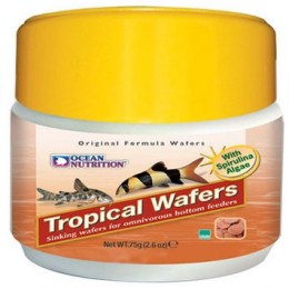 Ocean Nutrition Tropical Wafers. 75g pastillas de fondo