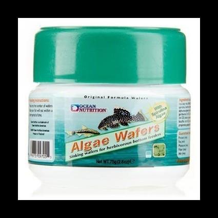 Ocean Nutrition Algae Wafers 75g pastillas de fondo para herbívoros