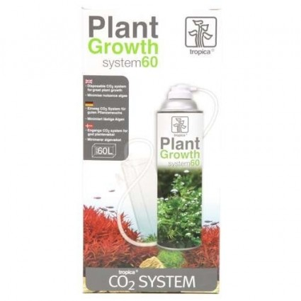 Tropica plant growth system 60 equipo co2 botella desechable