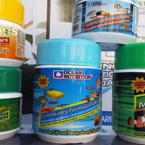 En Azureus tenemos una gran variedad en toda la alimentación de Ocean Nutrition