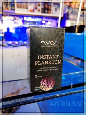 El instant plankton de Nyos es ideal como comida para los corales y animales filtradores del acuario marino, ya que su tamaño inferior a 50 micras hace que lo puedan aprovechar infinidad de corales.