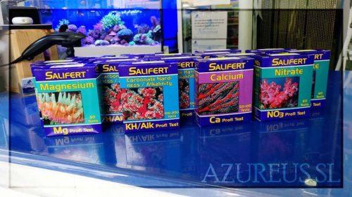 Toda la gama al completo de Salifert para tu acuario marino en Azureus.